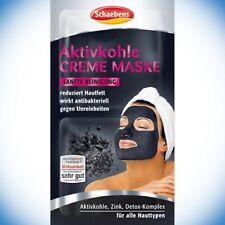 (EUR 24,31/ 100 ml) Schaebens Gesichtsmaske Aktivkohle Creme Maske 2x8ml