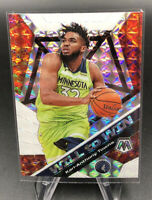 19-20 Panini Mosaic KARL ANTHONY TOWNS  WILL TO WIN Prizm + Donovan Mitchell