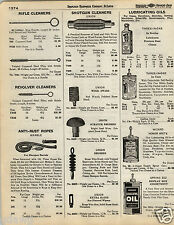 1935 PAPER AD Three In One 3 in 1 Oil Tin Can Glass Bottle Springeez Wizard