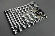 Chrome Bolt Caps Topper Cover For Harley Davidson Softail Twin Cam 2000 - 2006