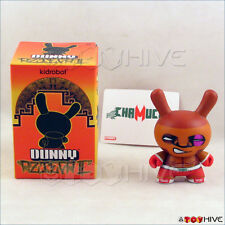 Kidrobot Dunny 2011 Azteca II 2 vinyl figure Chamuco by Luis Mata with box