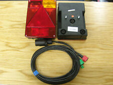 Pair of Quick Fit Radex 6800 Quick Fit Trailer Lights, 4m Plug In Cable Harness