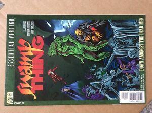 Essential Vertigo Swamp Thing VF 1997 Annual 2 1985 Reprint