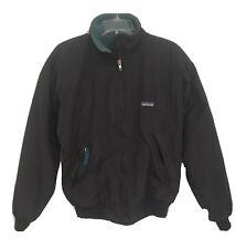 Vintage Patagonia Fleece Lined Women's Jacket Full Zip STY28131 Sz Small Black