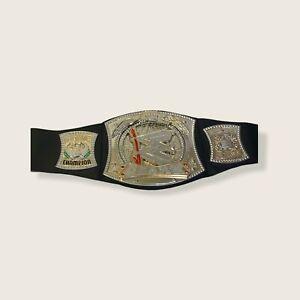 Monday Night Raw WWE Silver Gold John Cena Champion Wrestling Belt OSFA Mattel
