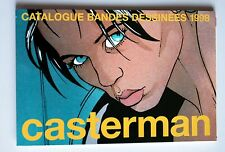 catalogue Casterman BD Bourgeon 1998 Tintin Hergé = 8 pages Alix Canardo
