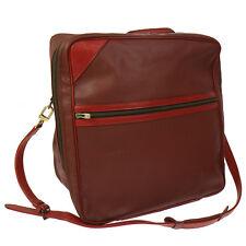 Authentic LOUIS VUITTON CUP CHALLENGE LINE 2 2way Duffle Bag Red Vintage T03988