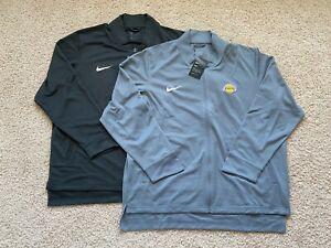 Nike Los Angeles Lakers full zip long sleeve shirt