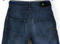 G-Star Brut Hommes Neuf Ruger Jeans Jambe Droite Taille W32 L32 AFZ767