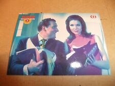 THE AVENGERS RETURN DIANA RIGG TV CORNERSTONE PREMIER CARD P7 PATRICK MacNEE