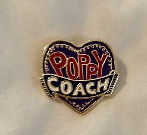 Coach Poppy Pin  New