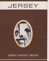JERSEY PRESENTATION PACK 1971 FAMOUS ARTISTS SG 65-68 10% OFF ANY 5+