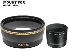 Xit Pro Series Wide Angle Lens for Canon PowerShot G12 G11 G10 Digital Camera