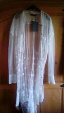 Zara Embroidered Long Shirt L (12-14)