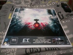 E.T. The Extra-Terrestrial - 4K Ultra HD Big Sleeve Edition ; Blu Ray + DVD new
