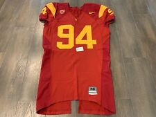 Authentic Game Used NIKE USC TROJANS Home Jersey #94 48 Williams Armstead