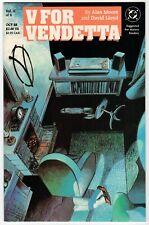 DC - V FOR VENDETTA Vol. II Of X (#2) - NM 1988 Vintage Comic