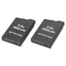 2pcs 3.6V 3600mAh Replacment Battery for Sony PSP2000 PSP3000 Gamepad Controller