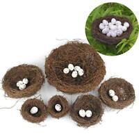 1 set Artificial Rats Nest Foam Mini Foam Egg For Easter Home Decor DIY Gift new