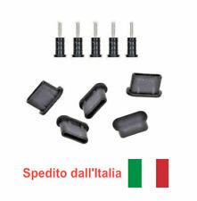 5x set tappo antipolvere USB Type-C + jack cuffie per Sony Xperia 5 II