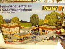 Faller H0 5 Gebäudebausätze SET: Rund ums Auto