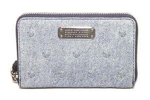 Marc Jacobs M0006762 Navy Denim Multi Clutch Wallet NWT $168