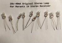 (1) 28V-40mA STEREO LAMP # 2187-- MODEL 19 NINETEEN & MODEL 20 & 20B/ Marantz
