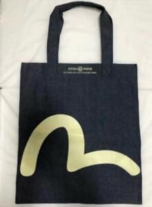 EVISU Denim Tote Bag Indigo Novelty New From Japan