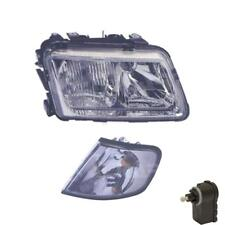 Headlight Right for Audi A3 8L1 H4/H7 with Indicator Incl. Motor