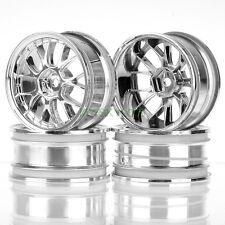 4pcs RC model car Wheel Rims 7Y Silver Offset 3mm, Width 26mm HIMOTO Racing 9030