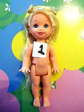 Mattel Kelly Tommy Ryan Doll No Clothes *Naked Blonde Kelly Doll* (1)