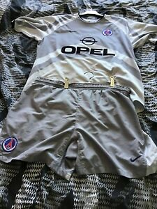 Maillot football Paris saint germain psg vintage ensemble shirt et short