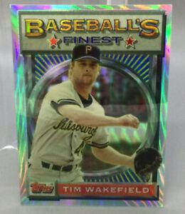 1993 Topps Refractor - Tim Wakefield - Baseball Card