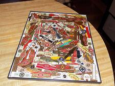 """Cigar Label Collage/Folk Art: Cohiba,OpusX,Romeo Y Julieta,etc.  11""""x14""""  Framed"""