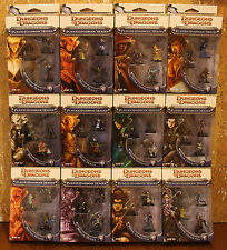 Dungeons & Dragons Miniatures Player's Handbook Heroes (Series 1 & 2, Full Set)