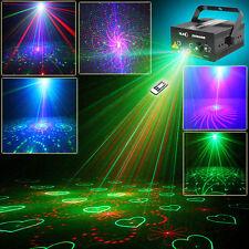 SUNY RG 5 Lens 80 Gobos Laser Projector Stage Light BLUE LED DJ Xmas Lighting+RC