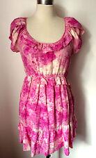NEW SILK JUICY COUTURE DRESS US 4 UK 8/10 BOUGHT AT LIBERTY LONDON