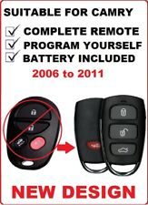 REMOTE FOB KEYLESS SUITABLE FOR TOYOTA CAMRY 2006 2007 2008 2009 2010 2011 2012