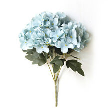 Artificial Hydrangea Silk Fake 6 Heads Flower Wedding Party Floral Decor 5 Color