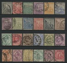 Cape of Good Hope Collection 24 Stamps Used