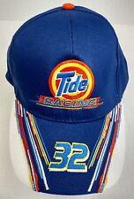 Tide Racing 32 Downy NASCAR Blue Hat Cap Snapback Adjustable NWOT