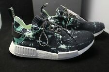 Adidas NMD R1 PK BB 7996 Size 8 Men's Core Black & Green Marble - NEW WITH TAGS