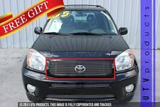 GTG 2004 2005 Toyota RAV4 1PC Polished Upper Replacement Billet Grille Grill