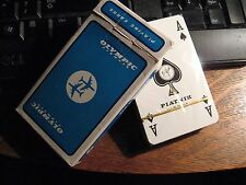Olympic Airways Playing Cards - Vintage Greece Greek Airlines Air Lines Box Deck