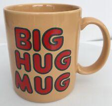 The FTD Big Hug Bouquet Mug Tan Coffee Tea True Detective HBO McConaughey Vtg