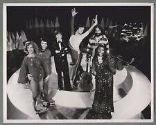 "Vintage B & W Publicity Photo 1979 Figure Skater Toller Cranston ""Dream Weaver"""