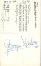 George Nader - Photograph Signed