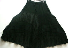 Ladies Victorian Old West style walking skirt Brown Sizes XSmall to XXLarge New