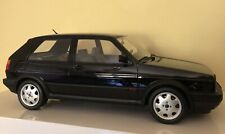 OTTO 1/12 Scale Volkswagen Golf GTI Mk2 16V 1985 Black Only 999 Made No 236