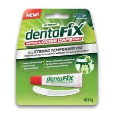 DentaFix Temporary Cap Repair 7g Dental Cement No Gum Irritation Pain Relief